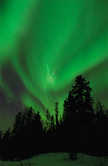 Northern Lights Photo - click to enlarge